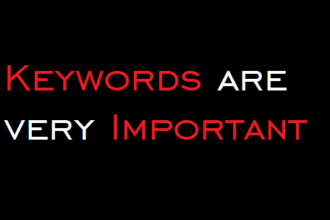 Are You Selecting the Right Keywords??